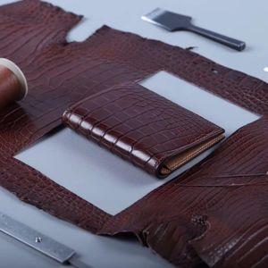 Бумажники из экзотической кожи!