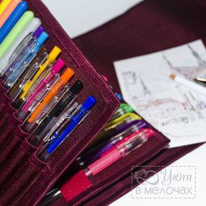 Пенал для маркеров, карандашей