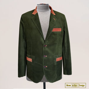 Пиджаки мужские из кожи и замши
