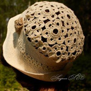 Летние женские шляпки, береты