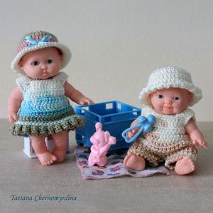 Одежда для кукол 12-14 см
