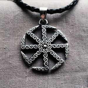 Коловрат - символ Бога Перуна.