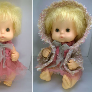 Винтажные куклы, пупсы, игрушки