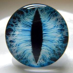 Узкий зрачок (стеклянные глазки)