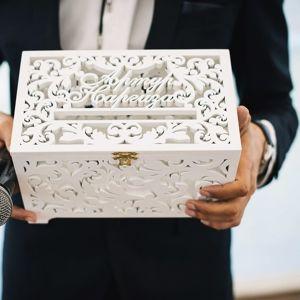 Свадебные сундучки для конвертов