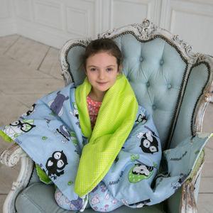 Одеялки пледики детские