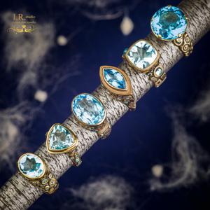 Сине-голубая коллекция
