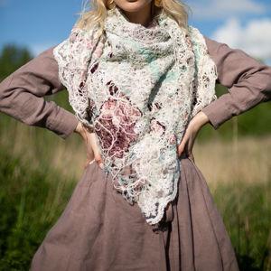 Платки  шарфы, палантины