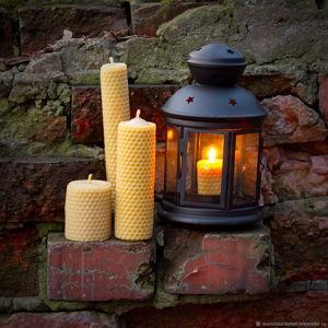 Свечи из пчелиного воска и трав