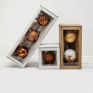 Коробки для ёлочных шаров