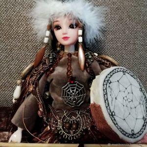 Коллекционные куклы обереги.