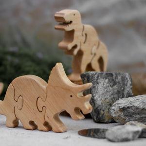 Доисторические животные пазлы