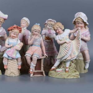 Антикварные и винтажные статуэтки