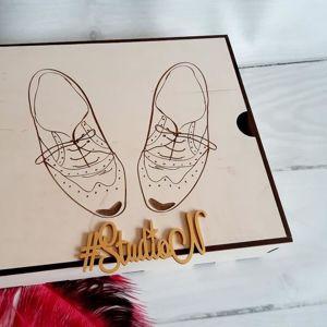 Коробка для обувной косметики