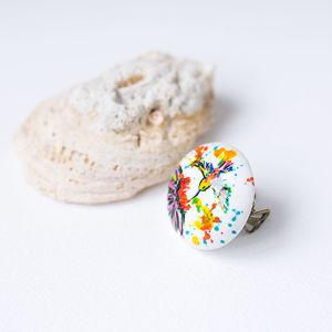 Кольца с росписью