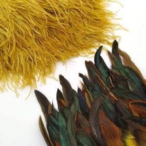 Тесьма из перьев