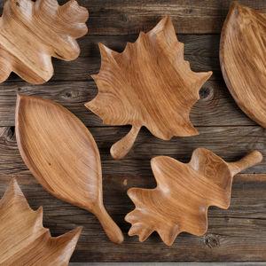 Деревянные тарелки Осень