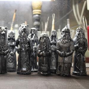Славянские Кумиры (Серебро) 13 см