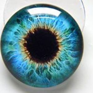 12мм глазки стеклянные