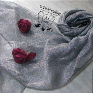 Палантины, шарфы и шарфики