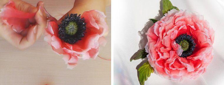 Шелковая флористика, Японское цветоделие фото