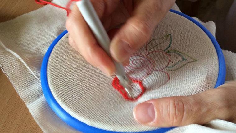 Вышивка петлей фото