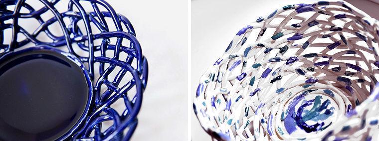 Прорезная керамика, Ажурная керамика фото