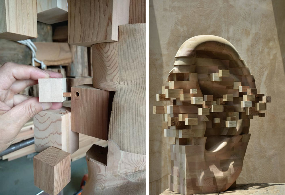 Striking Wooden Sculptures By Hsu Tung Han, фото № 3