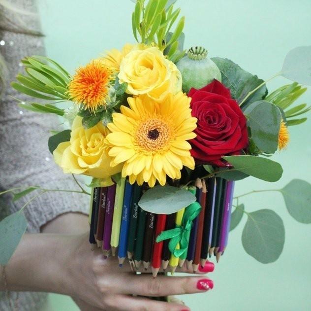 20 идей букетов к первому сентября, которые удивят учителя, фото № 9