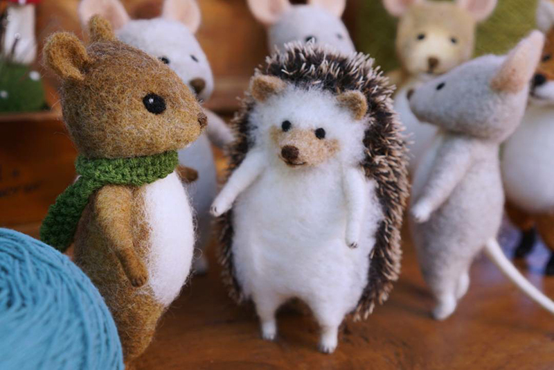 Mouse Stories: Adorable Felted Toys By Little Wool Tails, фото № 24