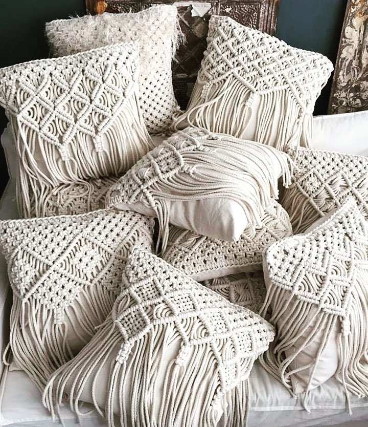 Tangled Story: 35 Ideas of Macrame in Interior, фото № 34