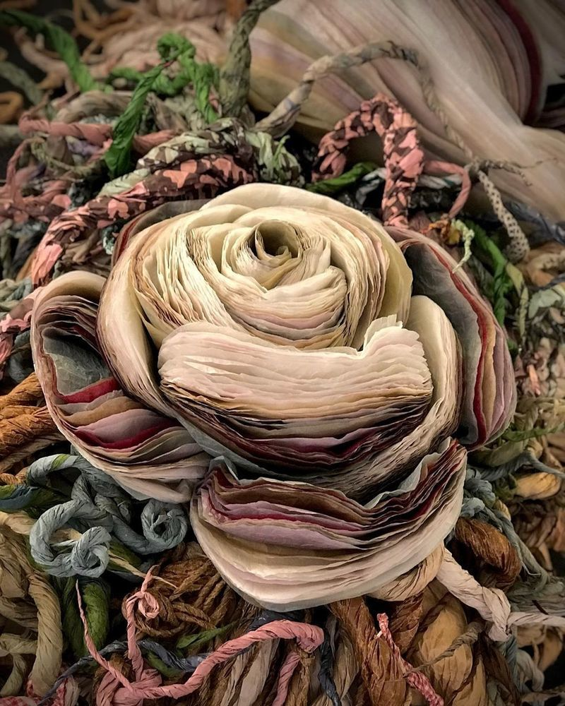 Потрясающие бумажные цветы датской художницы arianne riksen-cott ansen, фото № 40