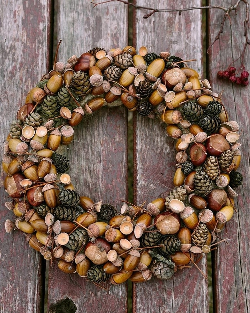 22 Autumn Ideas For Creative Use Of Acorns, фото № 5