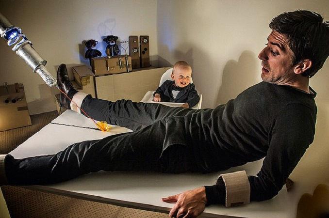 Что будет, если творческим людям дать много картонных коробок Лион Мэки и Лилли Лэнг — творческая семья киноманов, фото № 36