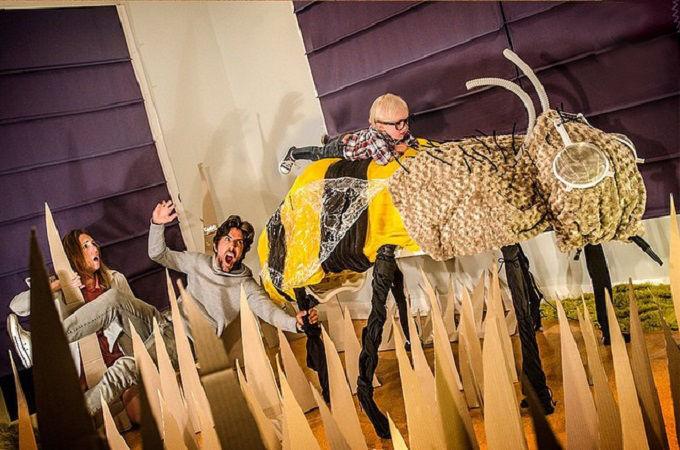 Что будет, если творческим людям дать много картонных коробок Лион Мэки и Лилли Лэнг — творческая семья киноманов, фото № 18
