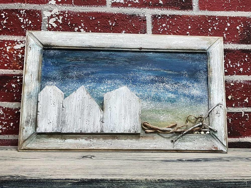 «У моря»  фантазия на тему DriftWood Art, фото № 1