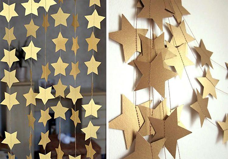 Золотой новогодний декор: 15 классных идей, фото № 17