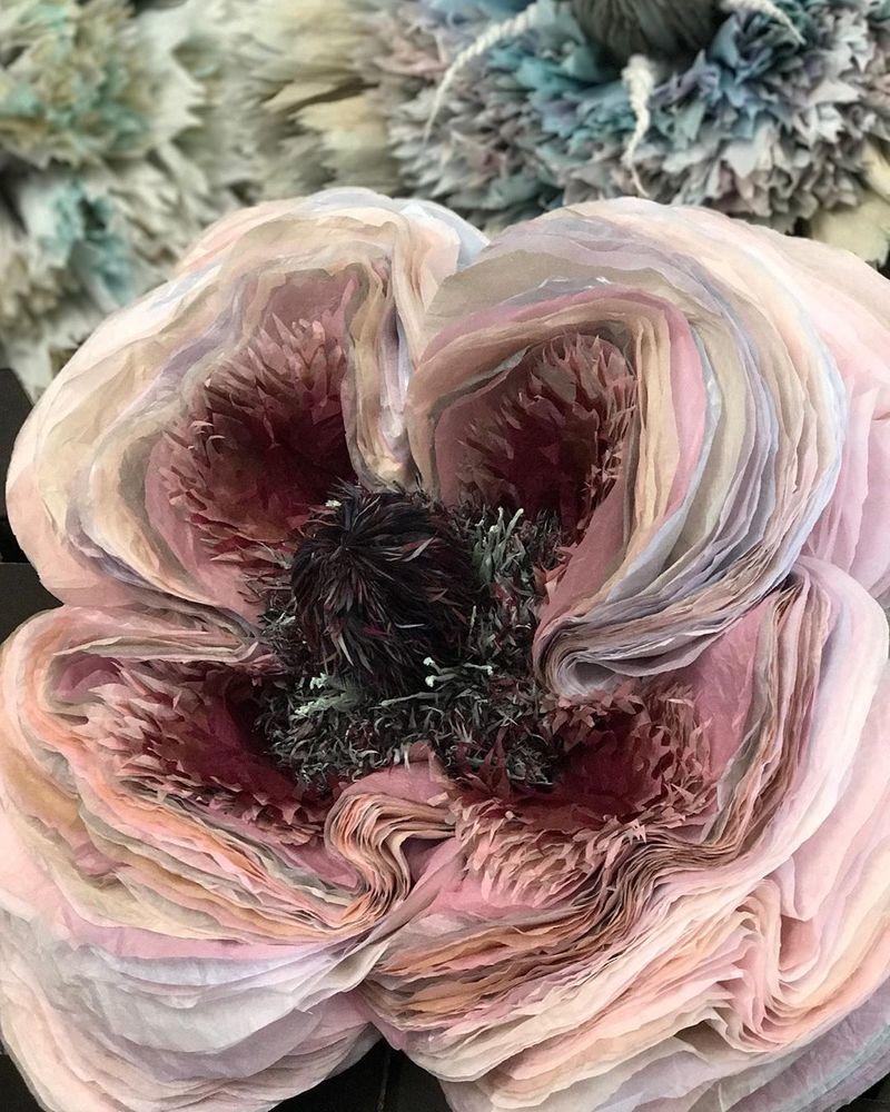 Потрясающие бумажные цветы датской художницы arianne riksen-cott ansen, фото № 41