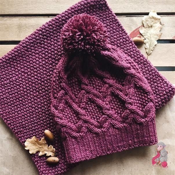 К зиме готовы! 50 идей вещей для вязания спицами, фото № 5