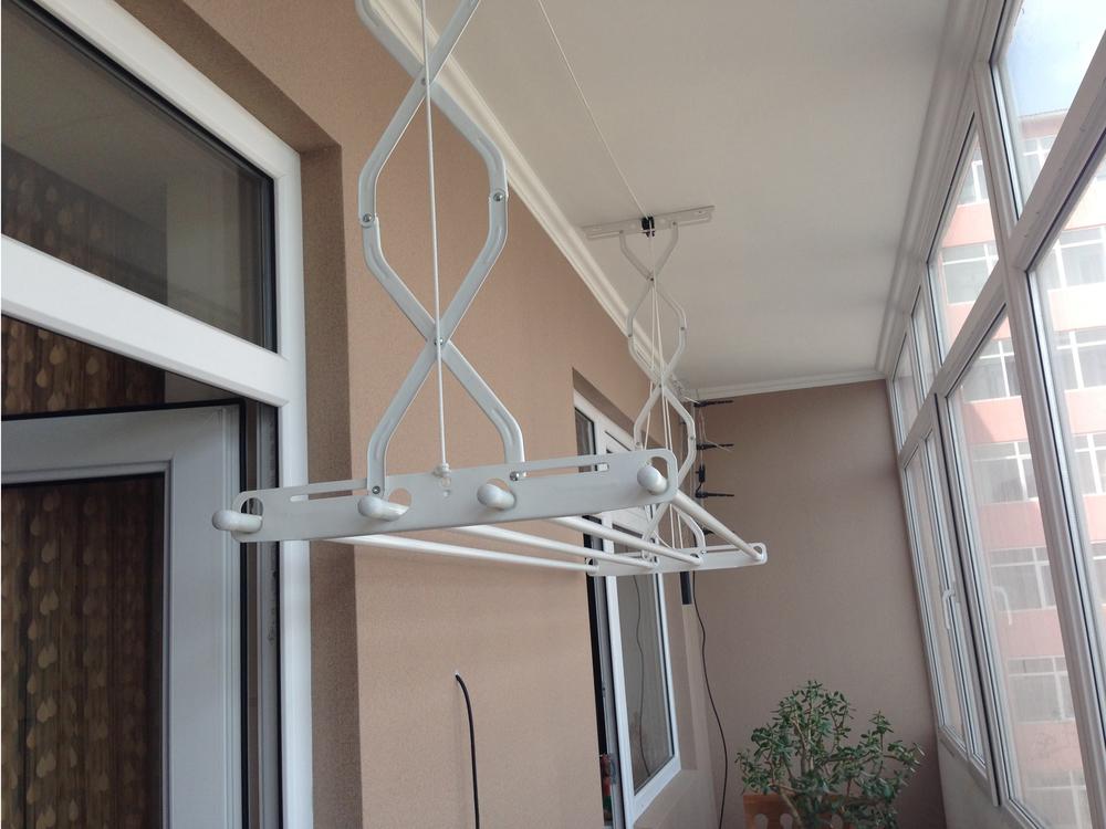 Где сушить белье в квартире красиво и удобно? (33 обычных и необычных решений), фото № 25