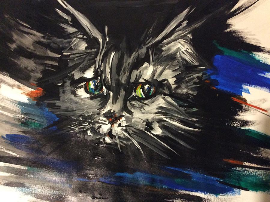 9-летний художник спасает животных из приюта: удивительный проект «Добрая кисть», фото № 20