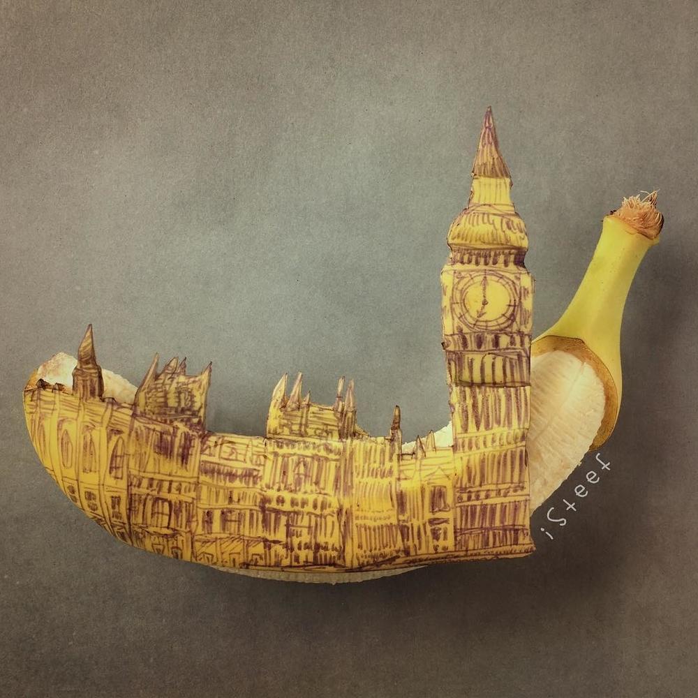 Повелитель бананов Стивен Брюче меняет наше привычное представление об этом фрукте в своём творчестве!, фото № 5