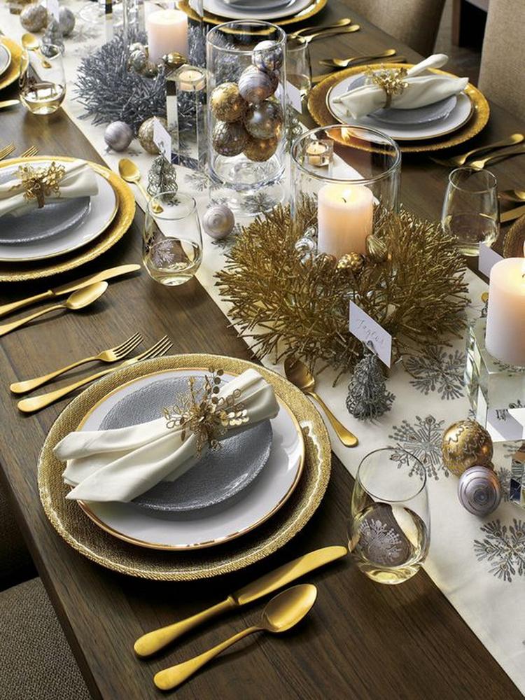 Золотой новогодний декор: 15 классных идей, фото № 33