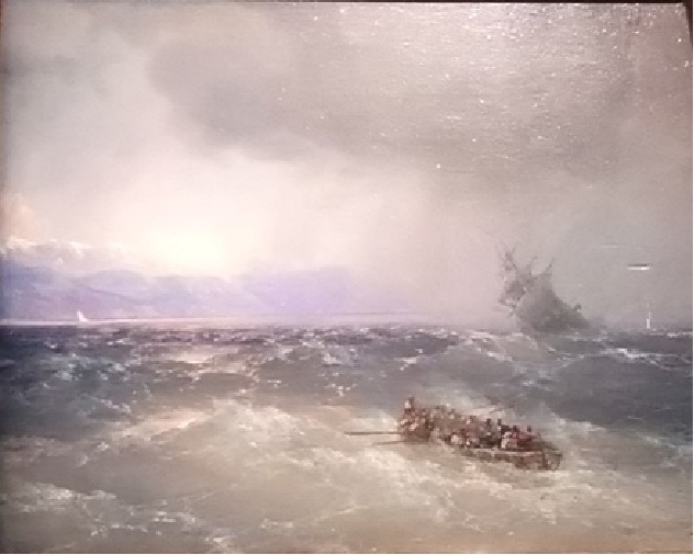 Unique Exhibition of Paintings by Aivazovsky, фото № 5