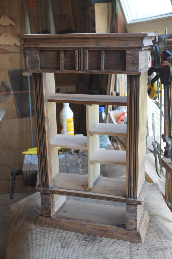 Реставрация старого шкафчика, фото № 9