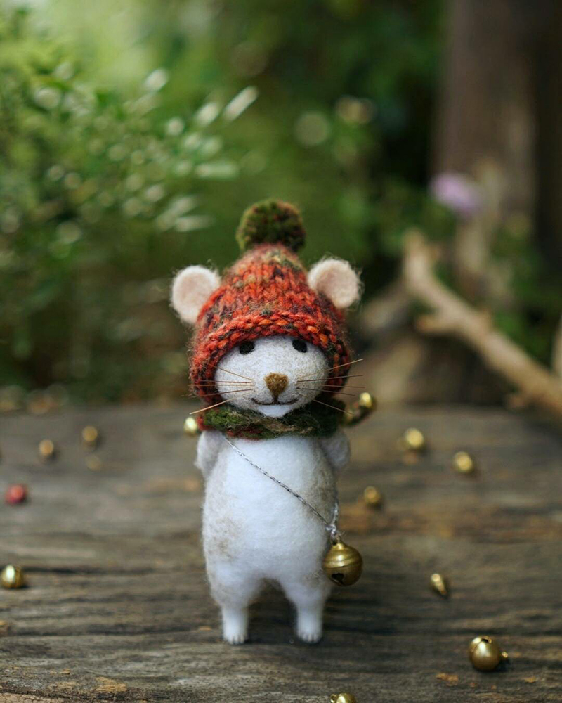 Mouse Stories: Adorable Felted Toys By Little Wool Tails, фото № 28