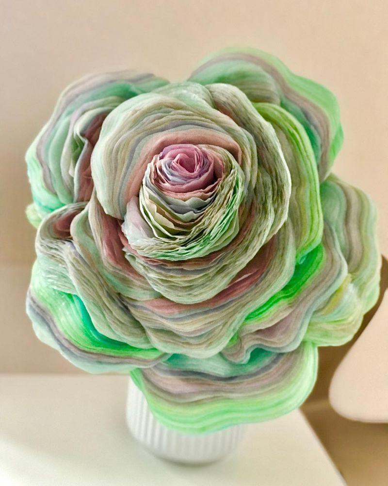 Потрясающие бумажные цветы датской художницы arianne riksen-cott ansen, фото № 16