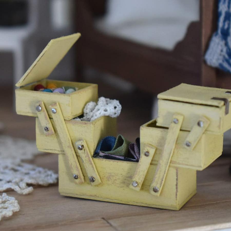 Финская художница создает дома мечты... в миниатюре, фото № 30