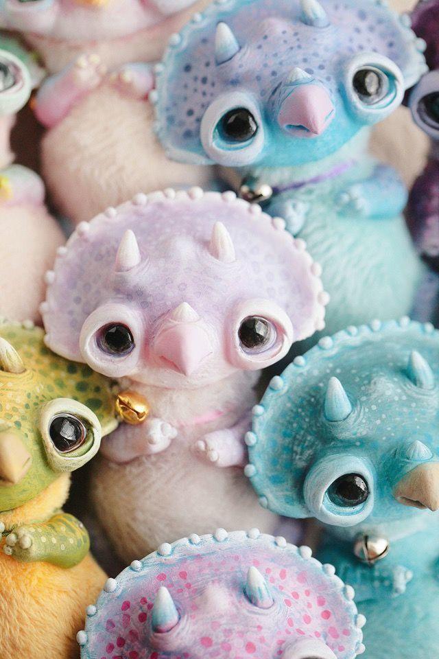 Alien Invasion Of Cuteness: 25+ Unusual Creatures By Anna Nazarenko, фото № 20