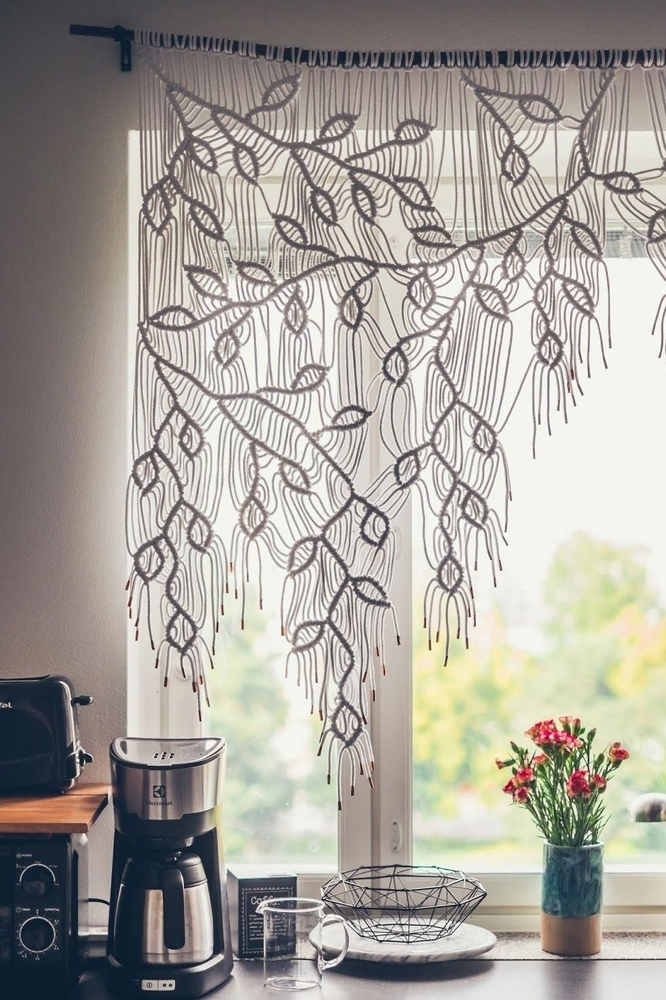 Tangled Story: 35 Ideas of Macrame in Interior, фото № 20